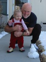 Greg Hand & granddaughter Natalie